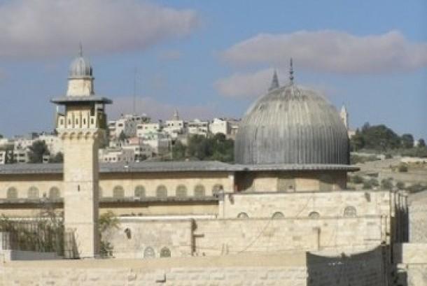 Al Aqsha mosque, Jerusalem, Palestine.