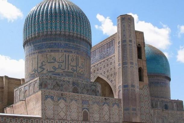 Masjid Bibi-Khanum, Samarkand, Uzbekistan.