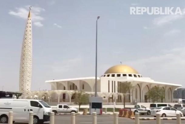 Masjid di kawasan bandara Madinah