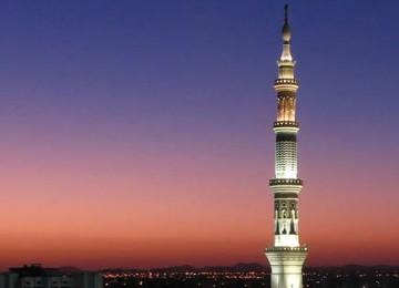 Menara Masjid Nabi, ilustrasi