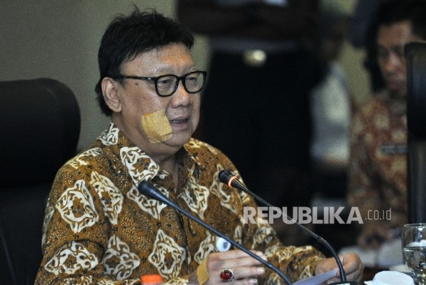 Minister of Home Affairs Tjahjo Kumolo