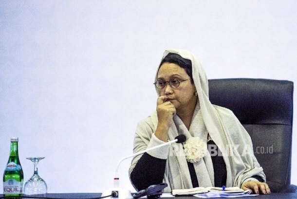 Foreign Minister Retno LP Marsudi