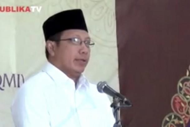 Menteri Agama (Menag) Lukman Hakim Syaifuddin