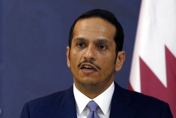 Qatar Foreign Minister Sheikh Mohammed bin Abdulrahman al-Thani