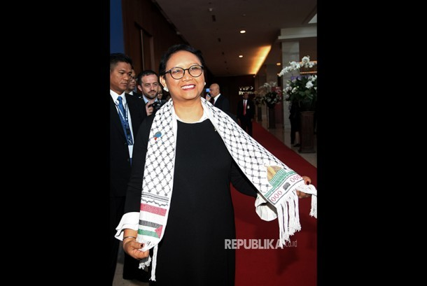 Indonesian Minister of Foreign Affairs Retno Marsudi