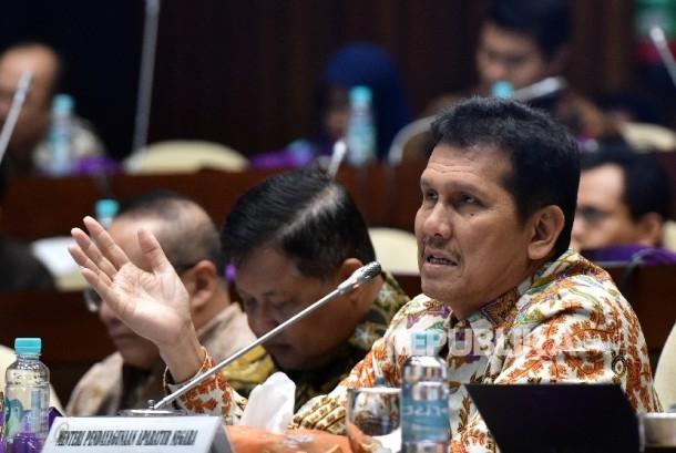 Menteri Pendayagunaan Aparatur Negara dan Reformasi Birokrasi Asman Abnur.