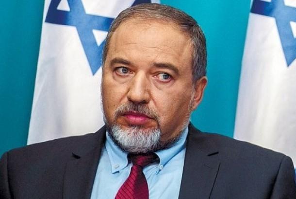 Menteri Pertahanan Israel, Avigdor Lieberman.
