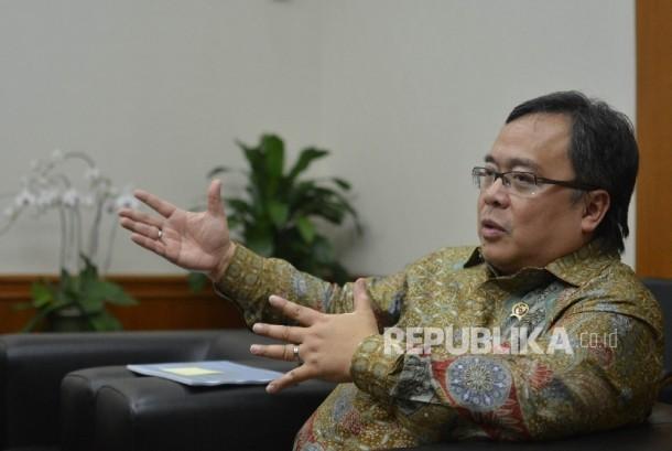 Menteri PPN/Bappenas Bambang Brodjonegoro.
