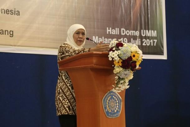 Menteri Sosial Khofifah Indar Parawansa.