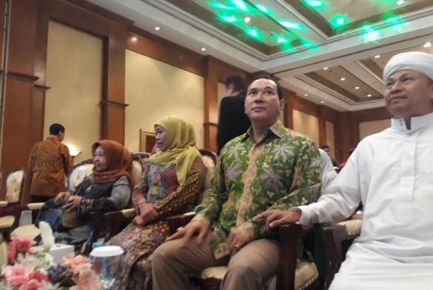 Tommy Soeharto Hadiri Penutupan Rapimnas Muslimat NU