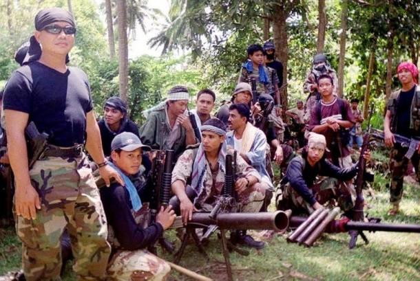 Militan Abu Sayyaf di Filipina.
