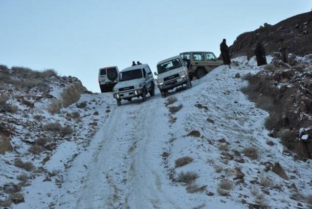 musim dingin di Arab Saudi
