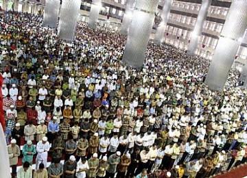 Muslim Indonesia. Ilustrasi.