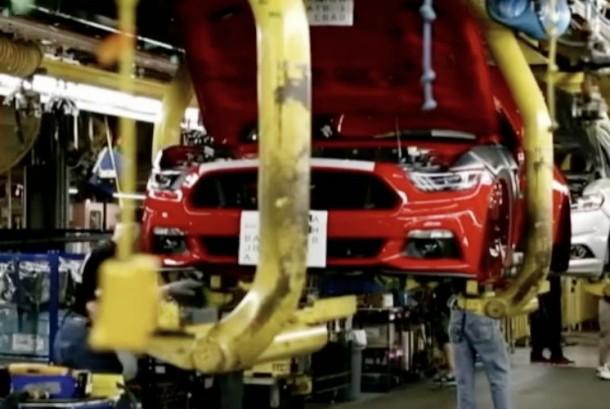 Pabrik mobil di AS