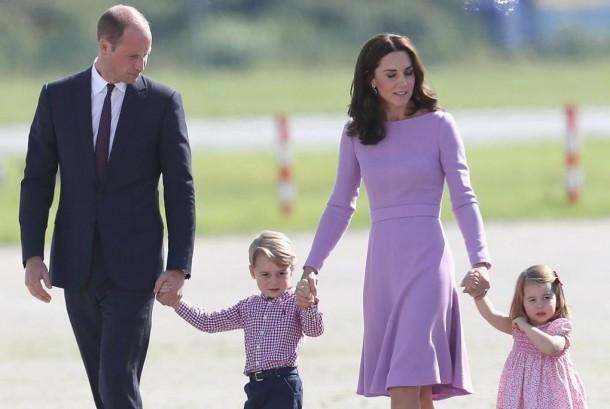 Pangeran William dan keluarga