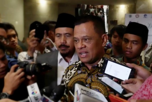 Indonesian National Military Commander General Gatot Nurmantyo