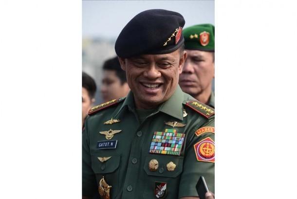 Panglima TNI Jenderal Gatot Nurmantyo.