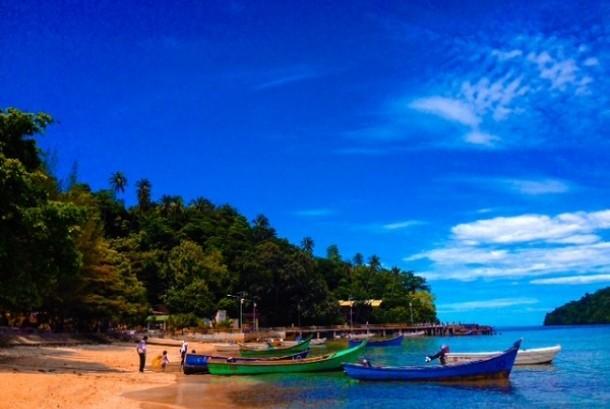 Pantai Iboih, Sabang, Pulau Weh