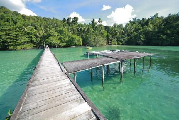 Pantai Waiwo di Raja Ampat, Papua (ilustrasi)