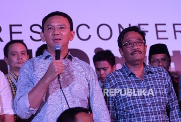 Candidate number 2 in Jakarta gubernatorial election, Basuki Tjahaja Purnama (Ahok)-Djarot Saiful Hidayat