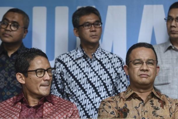 Anies dan Sandi Silaturahim ke Kediaman SBY