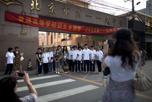 Sekolah Cina Terapkan Sistem Bank Nilai Bagi Siswa