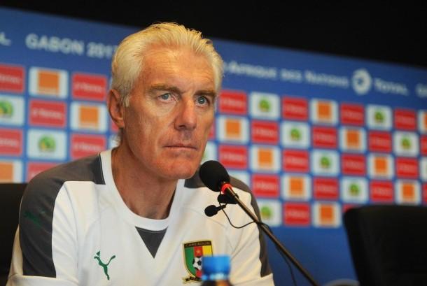Pelatih Kamerun, Hugo Broos.