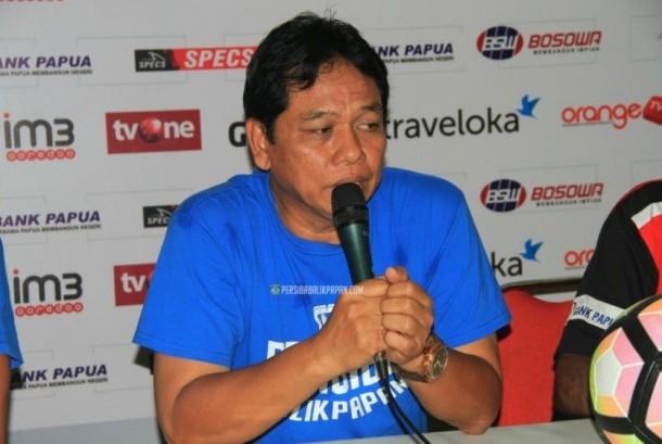 Pelatih Persiba Haryadi