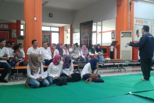 Pelatihan suprarasional PT Pos area Bogor.