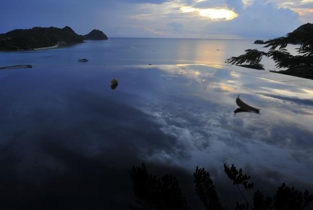 Pemandangan eksotis wisata Labuan Bajo, Manggarai Barat, Nusa Tenggara Timur (NTT). ilustrasi