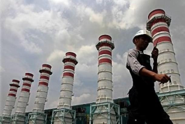Pembangkit listrik (ilustrasi)