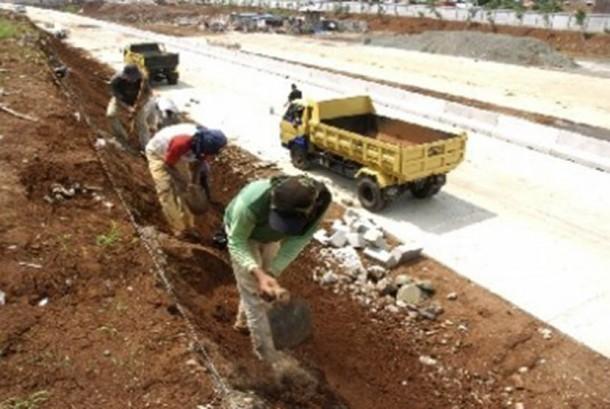 Pembangunan Jalan Tol/Ilustrasi