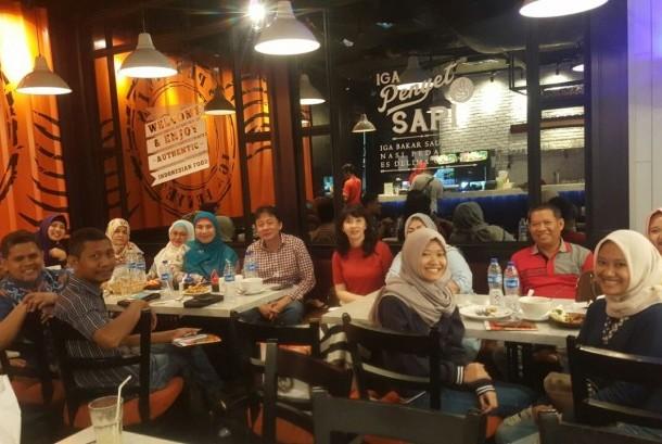 Pembekalan kepada para peserta educational trip ke Korea.