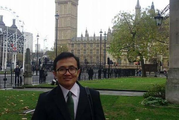 Pemerhati Masalah Kebangsaan Danang Aziz Akbarona