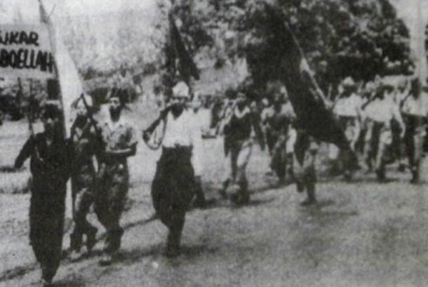 Soekarno-Hatta berembug bersama para tokoh di awal kemerdekaan