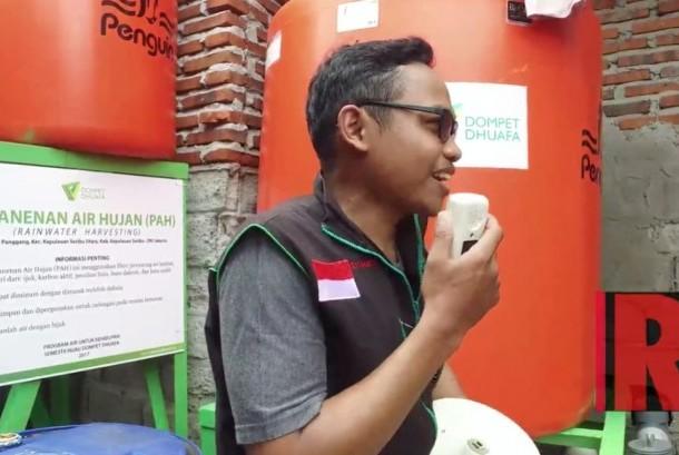 Penanggung Jawab Program Air untuk Kehidupan Ahmad Sodik