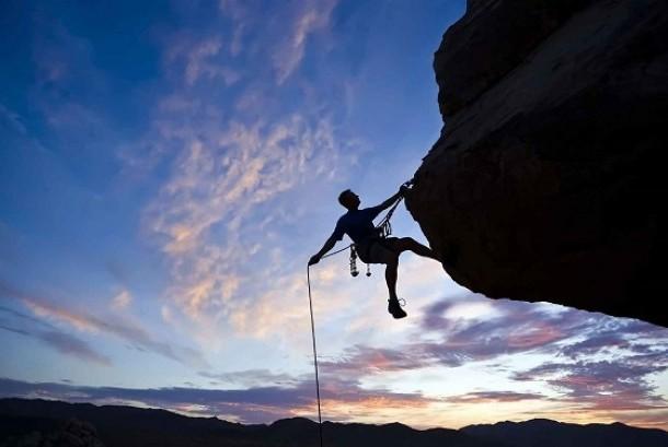Pendaki Gunung. Ilustrasi