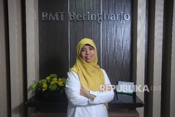 Pendiri Baitul Mal Wat Tamwil (BMT) Beringharjo Mursida Rambe
