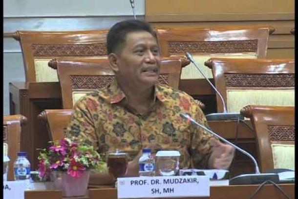 Pengamat Hukum Pidana dari Universitas Islam Indonesia (UII) Yogyakarta, Prof Muzakir m