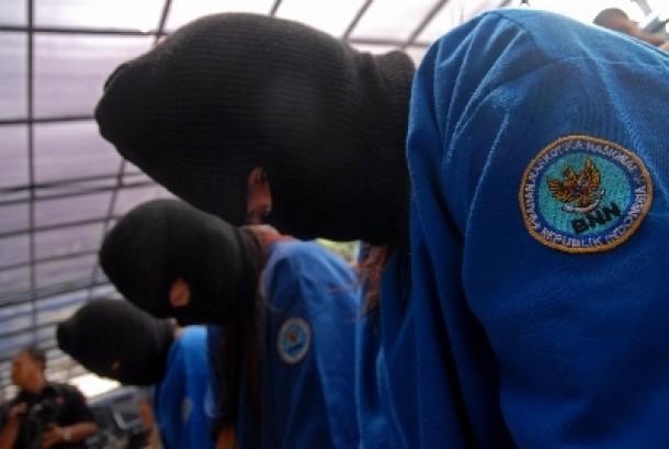 Pengedar narkotika yang ditangkap BNN