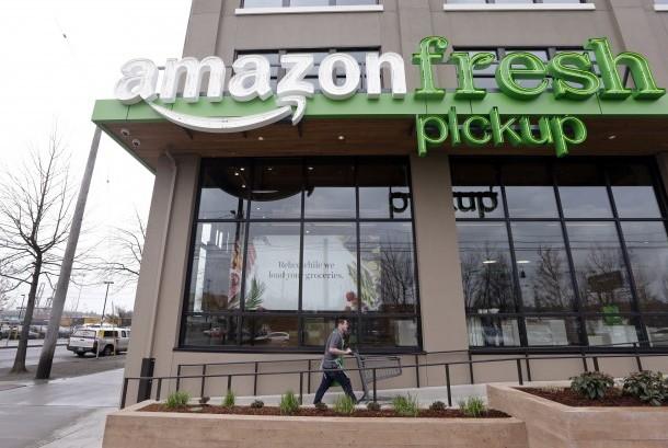 Pengembangan layanan toko kelontong Amazon (Ilustrasi)