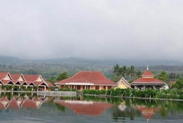Penginapan di kawasan wisata Cipanas, Jawa Barat (ilustrasi)