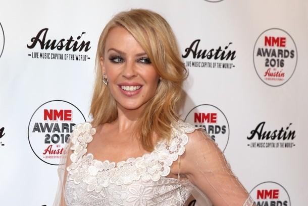 Penyanyi Australia Kylie Minogue