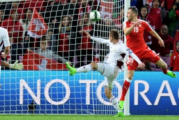 Bungkam Latvia, Swiss Belum Tergoyahkan di Grup B