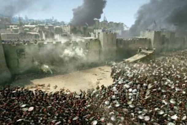 Perang salib (ilustrasi)