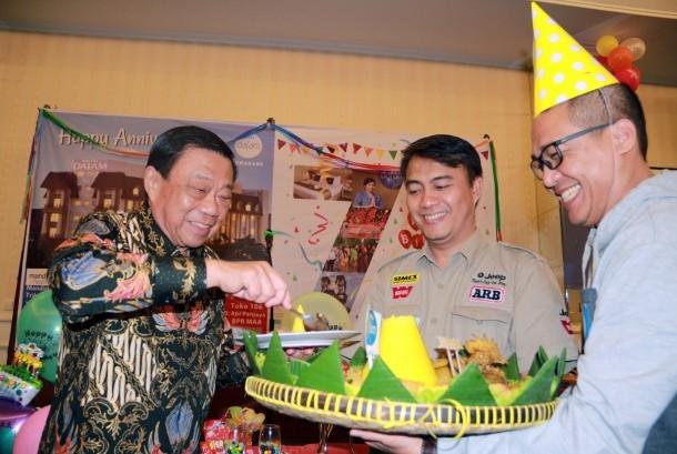 Perayaan HUT Hotel Dafam Semarang.