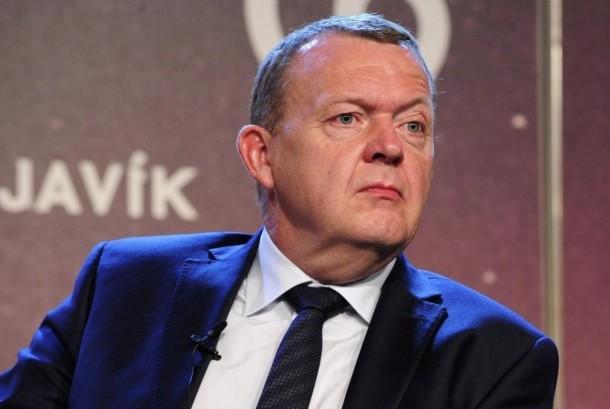 Perdana Menteri Denmark Lars Lokke Rasmussen.