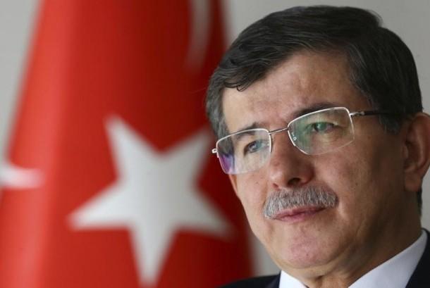 Perdana Menteri Turki Ahmet Davutoglu.