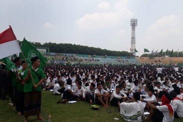 Peringatan Hari Santri di Tasikmalaya