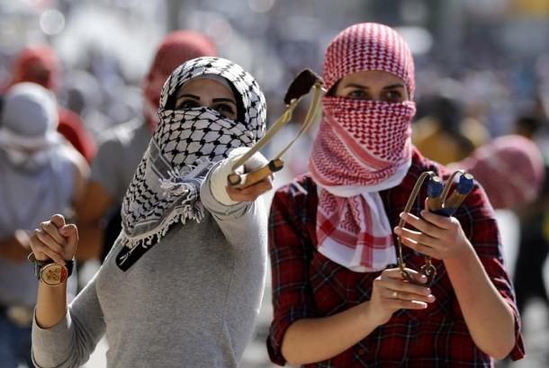 Perjuangan rakyat Palestina melawan penjajahan Israel. (ilustrasi)